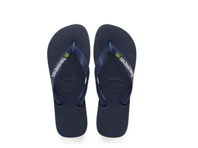 havaianas Brasil Logo Sandalen, blauw